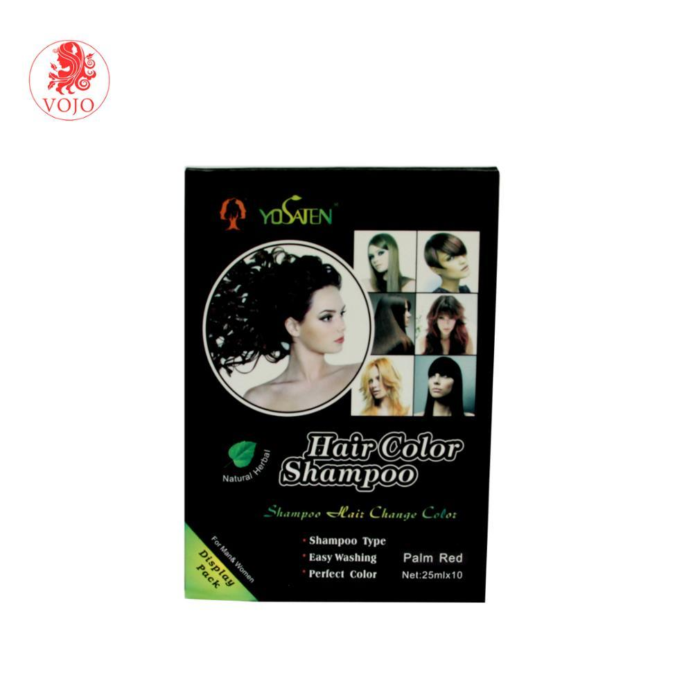 Yosaten brand hair colour ammonia free for hair colour for home use with Korea formula