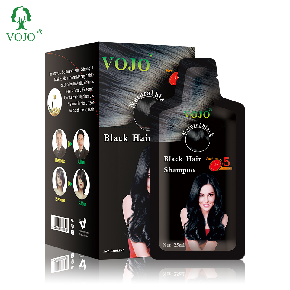 VOJO wholesale organic pearl element herbal extract professional hair dye for salon hair beauty