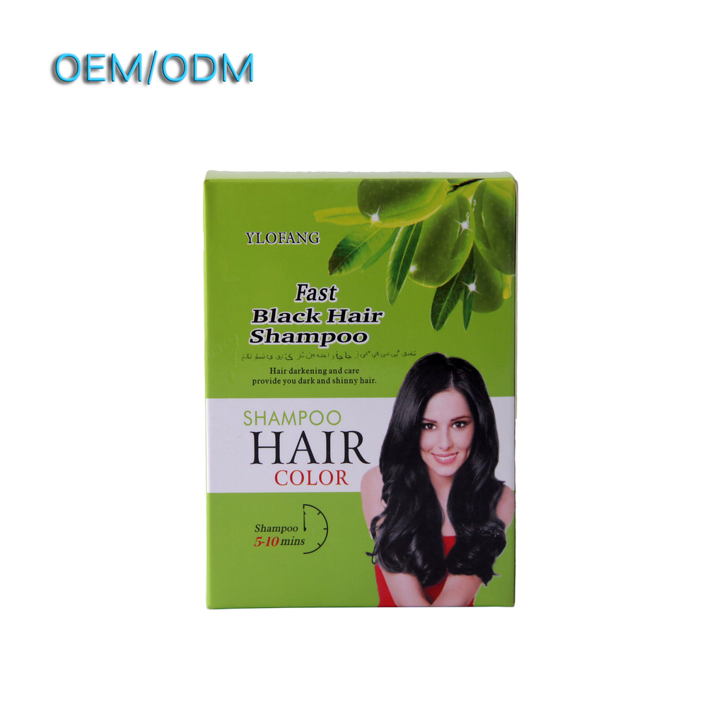 mild black hair shampoo ylofang free hair dye without chemicals samples of natural black hair dye shampoo with big profit