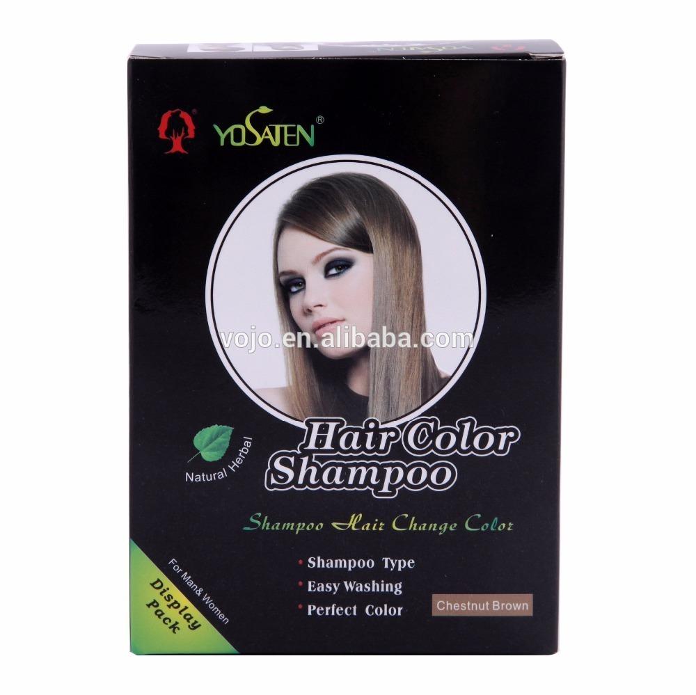 Fashion Fast Magic A VERY Wash DARK Black Hair Shampoo Black Hair Color Shampoo