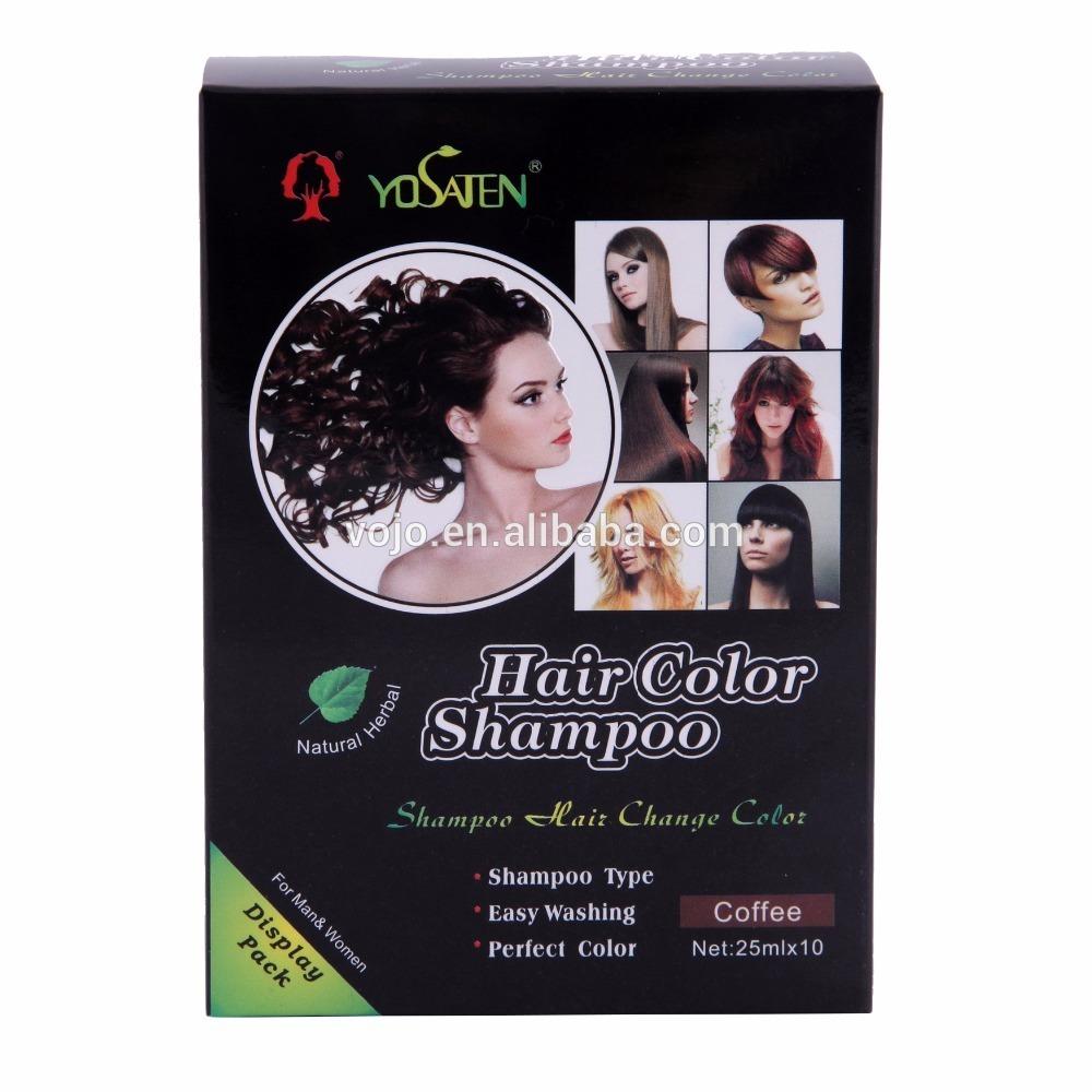 Fastest sell Temporary hair dye natural hair dye shampoo factory organic blue hair dye