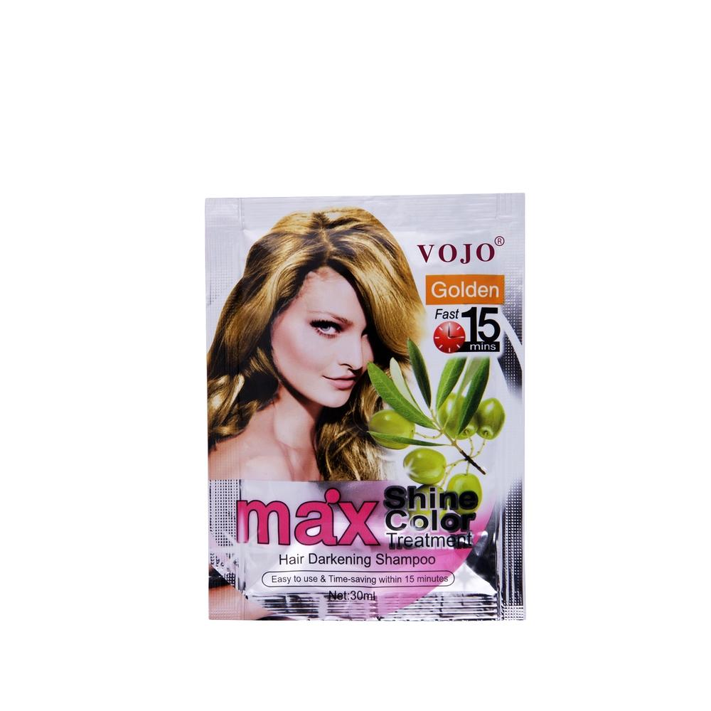 China Manufacturer Wholesale Herbal Hair Dye Shampoo Ammonia free Hair Color Changed 5 colourful Shampoo