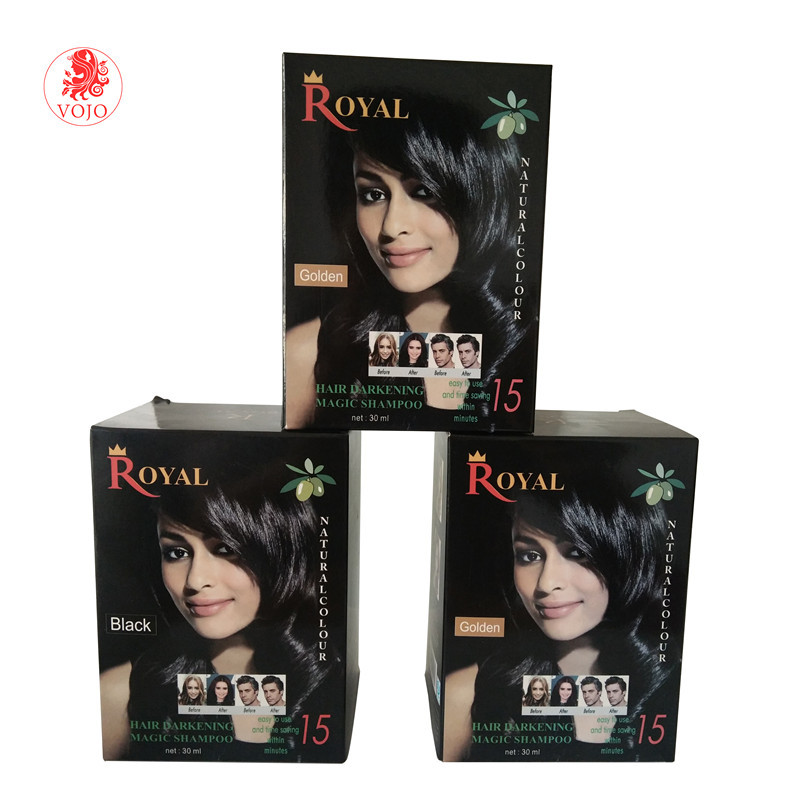 China wholesale private label brands hair color cream dye which is easy color and saving time color hair dye shampoo