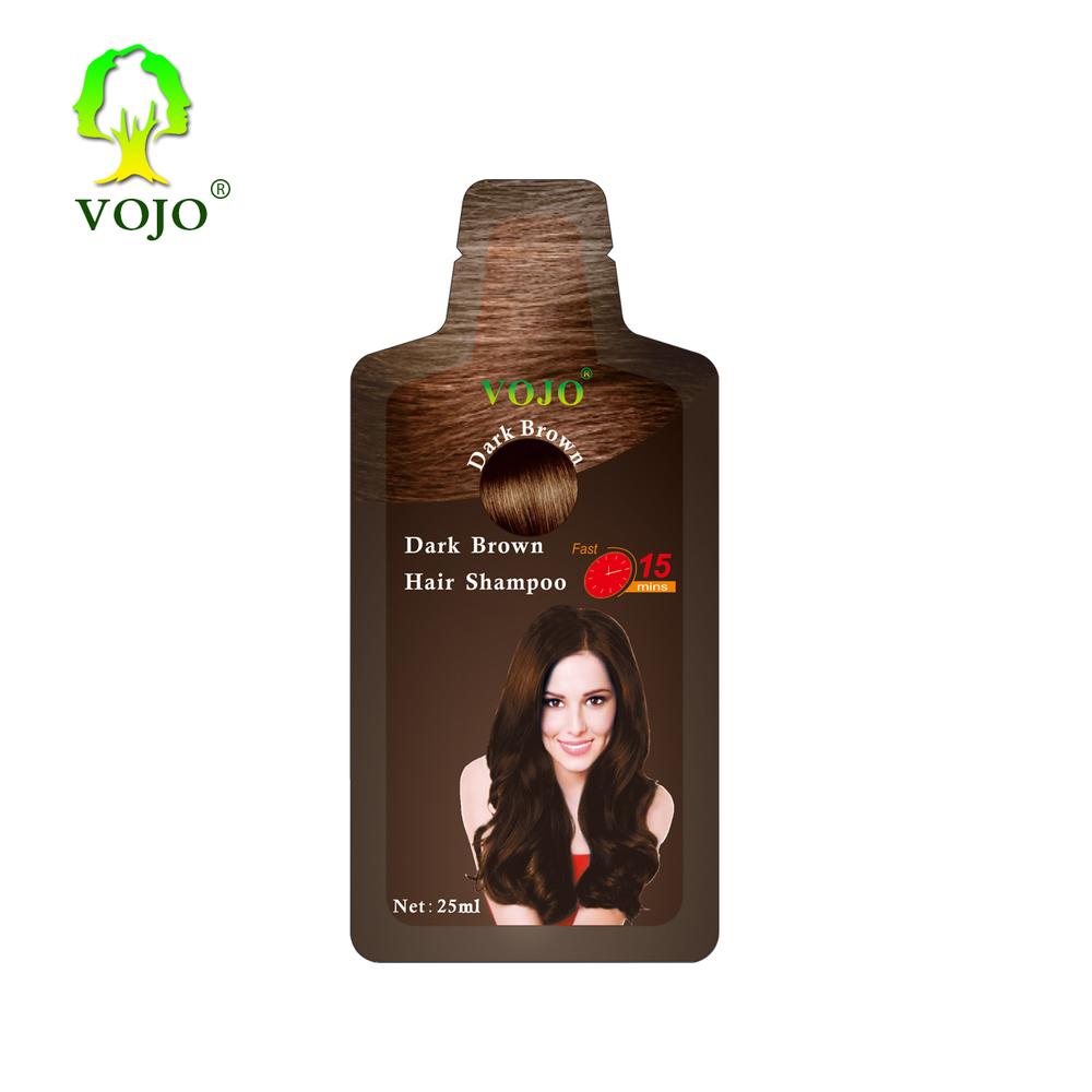 2021 newest hair dye product indian henna bherbal extracted fast dye hair colour shampoo