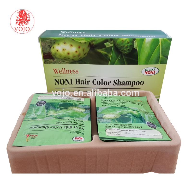 Natural black henna shampoo based hair color/ noni black hair magic shampoo