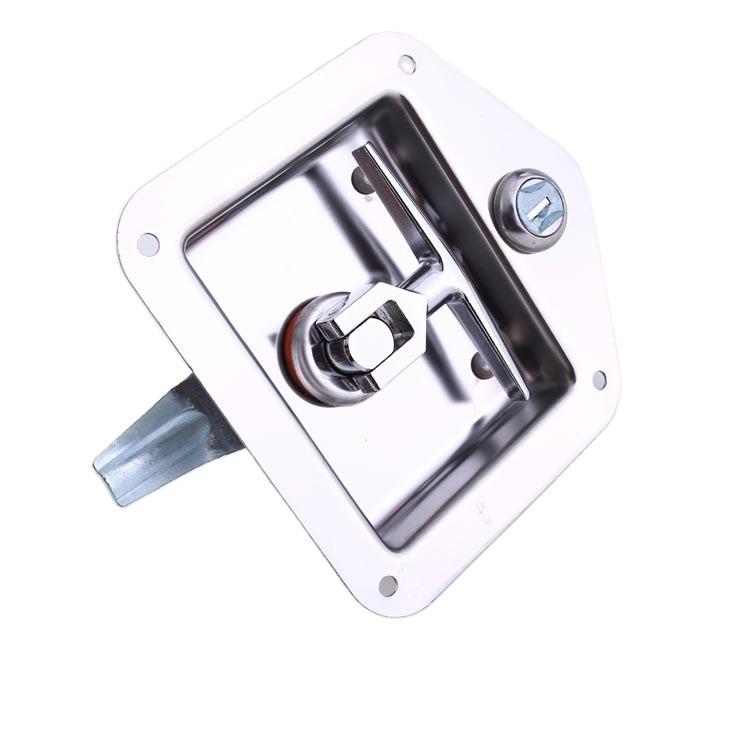 Paddle Lock Flush Slam Latch/Container door locks --012001