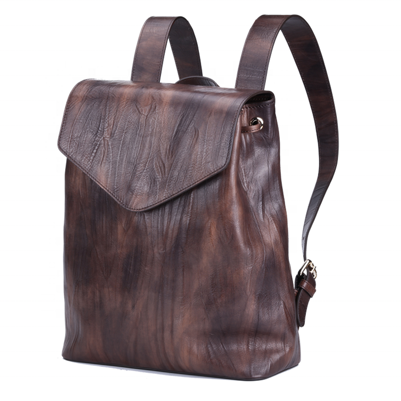 mochilas Women's casual travel bag fashion trend leather backpack