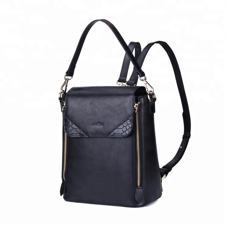 mochilas Luxury designer fashion Italian imports cowhide leather backpack women