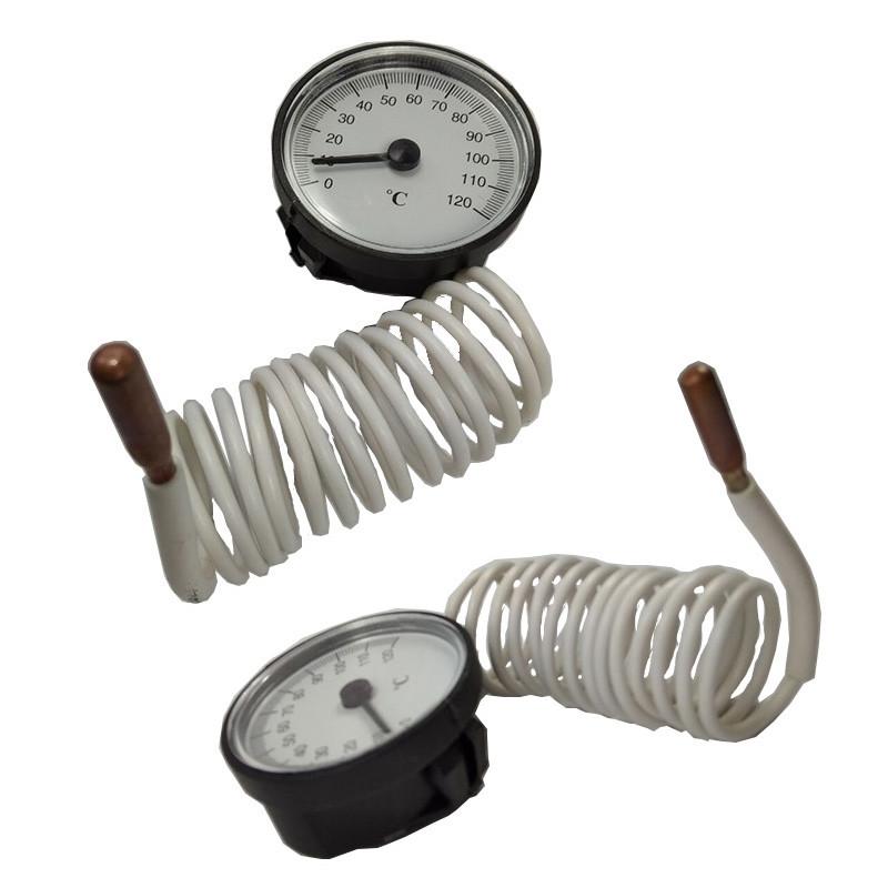 plastic case pressure thermometer