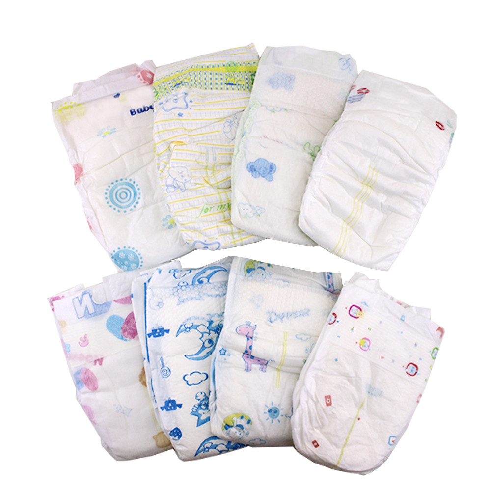 Disposable Baby Nappy Baby Diaper Baby OEM/ODM Brand Factory B Grade Rejected Stock Diapers In Vcare QUANZHOU