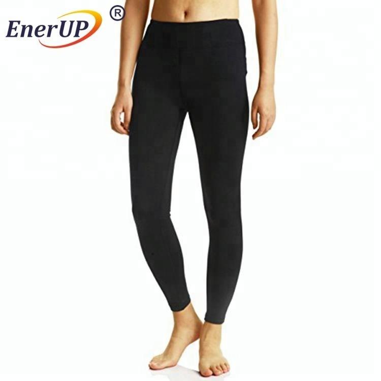 Copper ion sport wholesale sport compression seamless underwear leggings thick