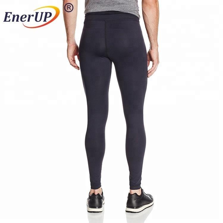 Seamless legging compression pants men