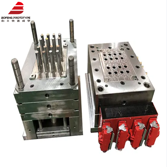16 Cavity Yudo Hot Runner PE Plastic Tube Injection Mold with Lkm Standard Mould
