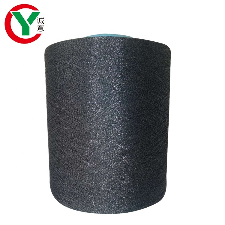 wholesale 1/30s nylon blended yarn glitter fancy yarn for knitting