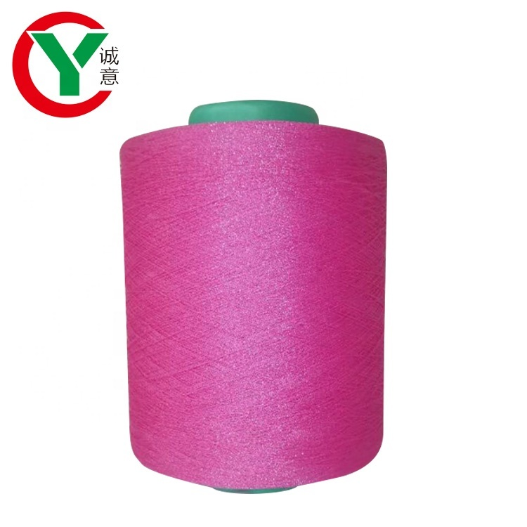 High Quality Knitting and Weaving yarn 30s/1 Ring Spun Viscose Glitter Yarn