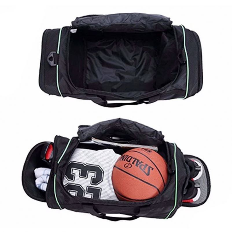 product-Osgoodway Large Sports Duffle Bag Durable Men Gym Fitness Bag with Shoe Compartment-Osgoodwa-1