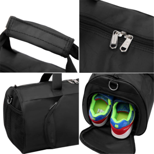 product-Osgoodway Simple Style Wholesale Waterproof Portable Travel Gym Bag Luggage with Shoes Stora-1