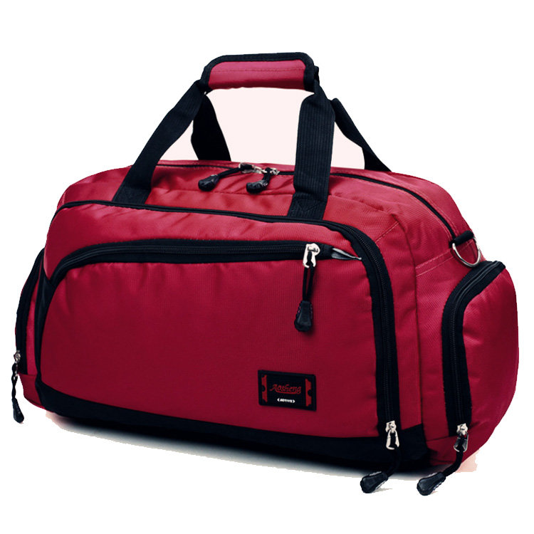 product-Osgoodway2 High Quality Nylon Fitness Duffle Bag Large Capacity Waterproof Travel Duffel Bag-1
