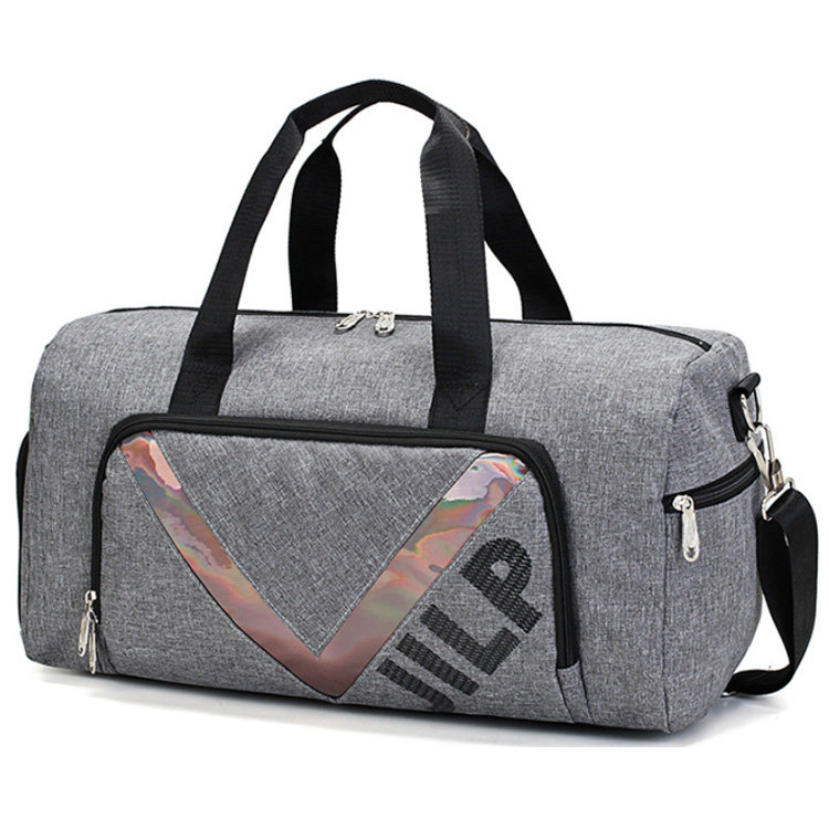 product-Osgoodway-Osgoodway2 Travel Duffle Bag with Shoe Compartment Stylish Training Fitness Gym Ba