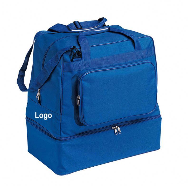 Osgoodway Club Football Basketball Custom Logo Sports Duffle Bag Gym Bag with Shoe Compartment