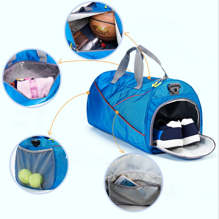 product-Osgoodway Multi Function Travel Bag Unisex Sport Gym Travel Duffel Bag With Shoe Compartment-1