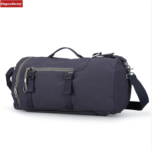 product-Osgoodway High Capacity New Arrival Cylinder Package Multifunction Travel Duffle Bag Backpac-1