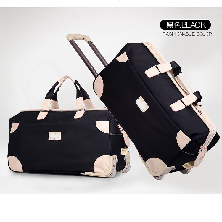 product-Osgoodway Manufacturer New products Japanese leisure travel bags with trolley sleeve for wom-1