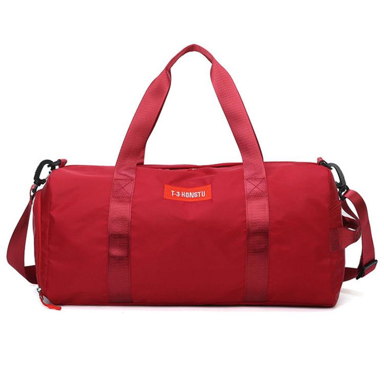 Osgoodway2 nylon waterproof yoga workout gym bag women men dry wet separation shoe sport duffel bags for gym