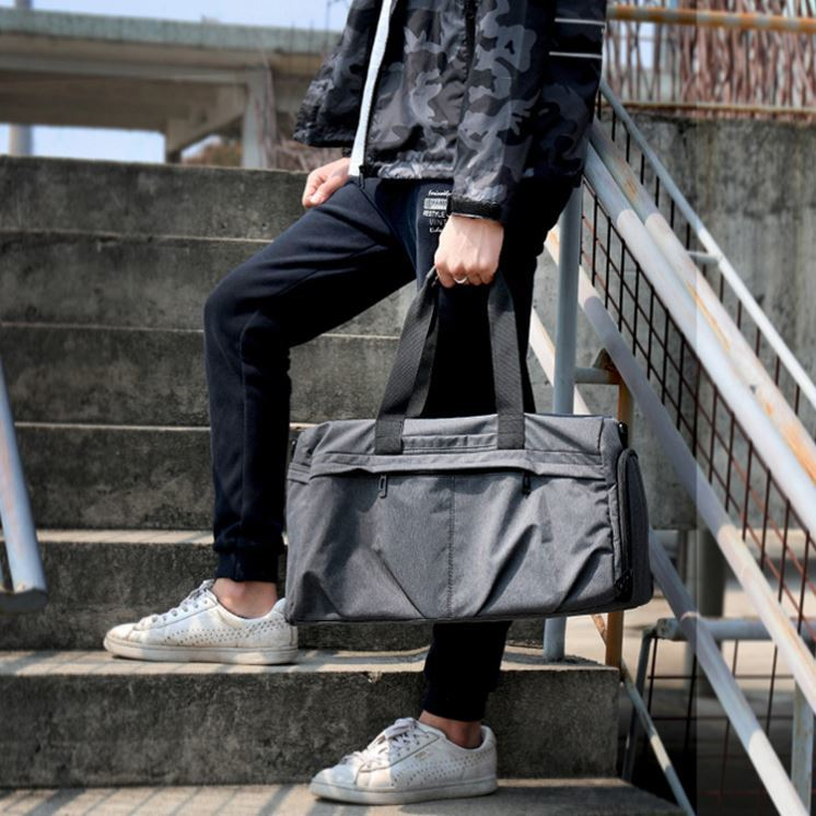 product-Osgoodway Customized Weekend Travel Duffle Bag Business Mens Fashion Duffle Bag-Osgoodway-im-1