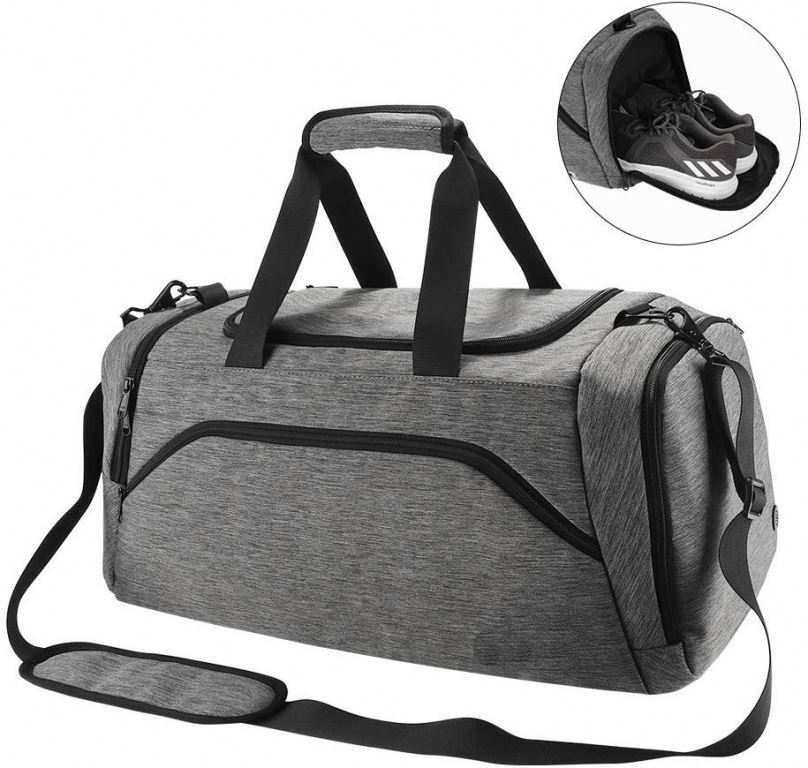 Osgoodway Men Weekend Duffel Bag Medium Size Custom Logo Shoe Designer Duffle Bag