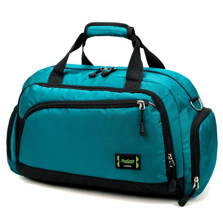 Osgoodway2 High Quality Nylon Fitness Duffle Bag Large Capacity Waterproof Travel Duffel Bag
