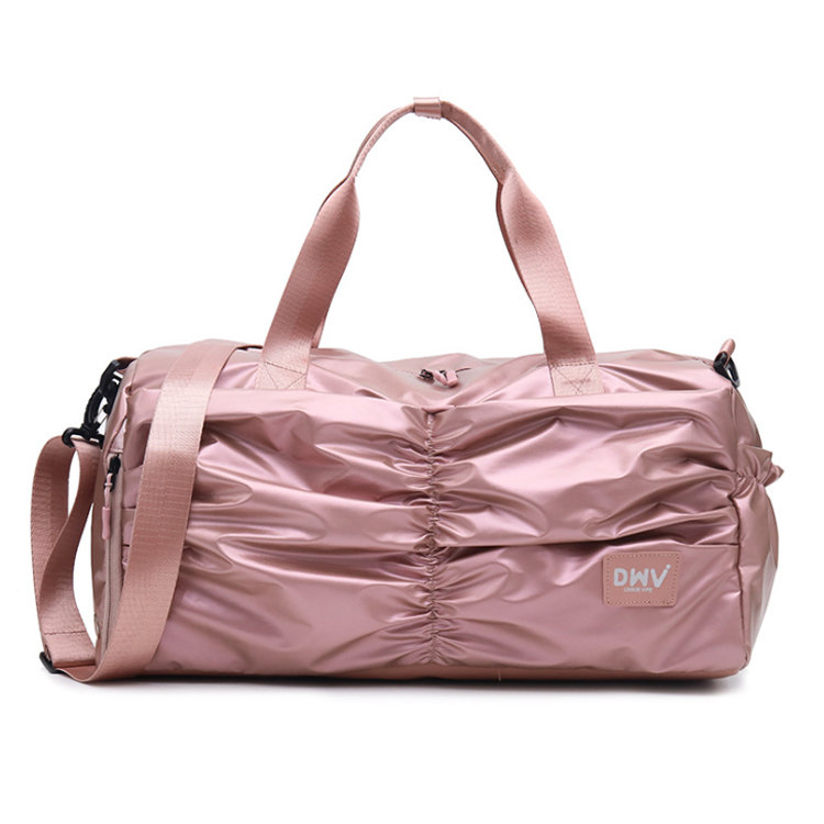 Osgoodway2 Customs Girls Sports Yoga Duffle Bags Ladies Travel Duffel Bags With Shoe Compartment