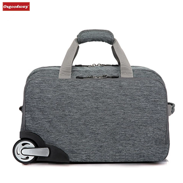 product-Osgoodway-Osgoodway High Quality Wholesale 32L Waterproof Oxford Trolly Travel Hand Bag Lugg