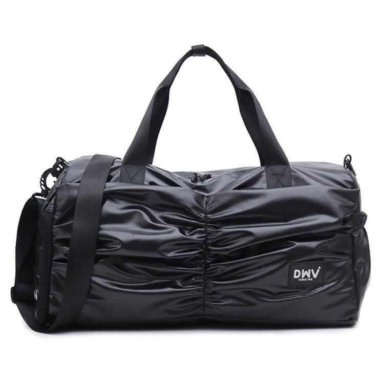 Osgoodway2 New Fashion PU Coating Cute Girls Travel Duffel Bags Water-Resistan Women Sports Gym Bag