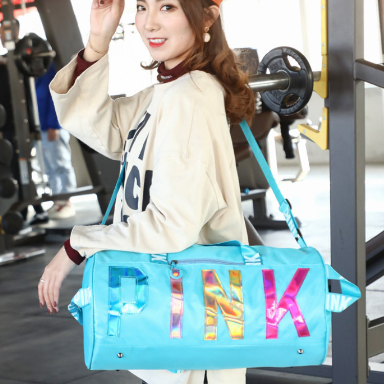product-Osgoodway-Osgoodway2 Hot Selling Wholesale Gym Bag Waterproof Women Pink Overnight Weekend G