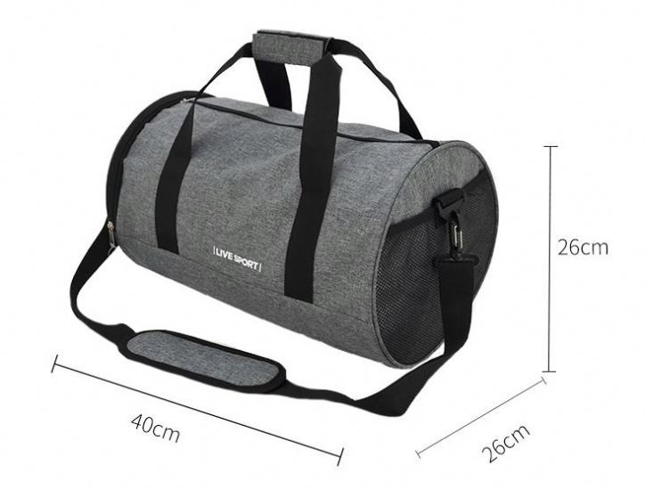 product-Osgoodway-Osgoodway Weekend Travel Duffel Bag Small Custom Sports Gym Duffle Bag for Men-img