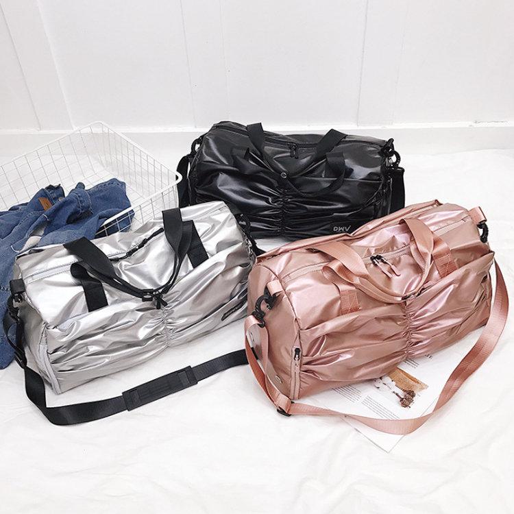 product-Osgoodway2 New Fashion PU Coating Cute Girls Travel Duffel Bags Water-Resistan Women Sports -1