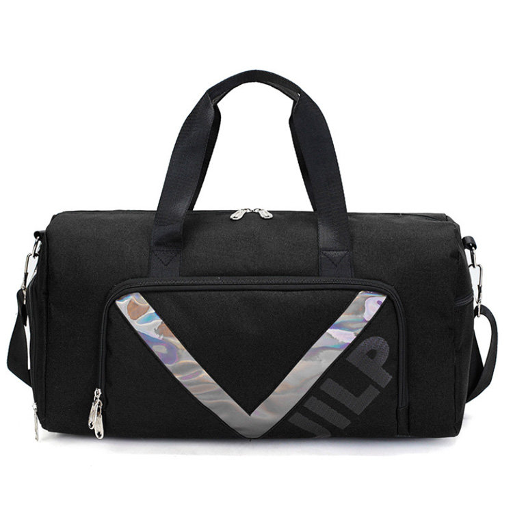 Osgoodway2 Travel Duffle Bag with Shoe Compartment Stylish Training Fitness Gym Bag