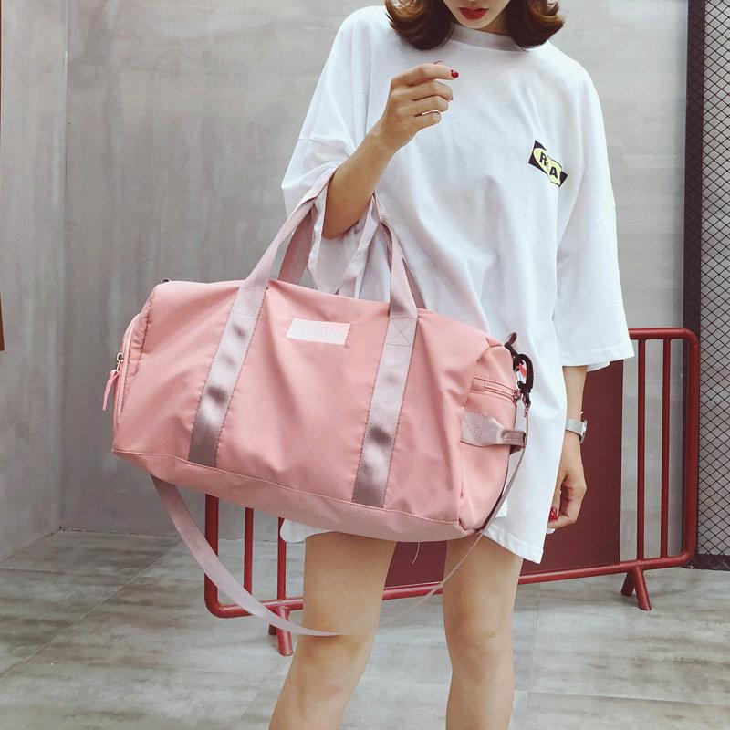 product-Osgoodway-Osgoodway2 nylon waterproof yoga workout gym bag women men dry wet separation shoe