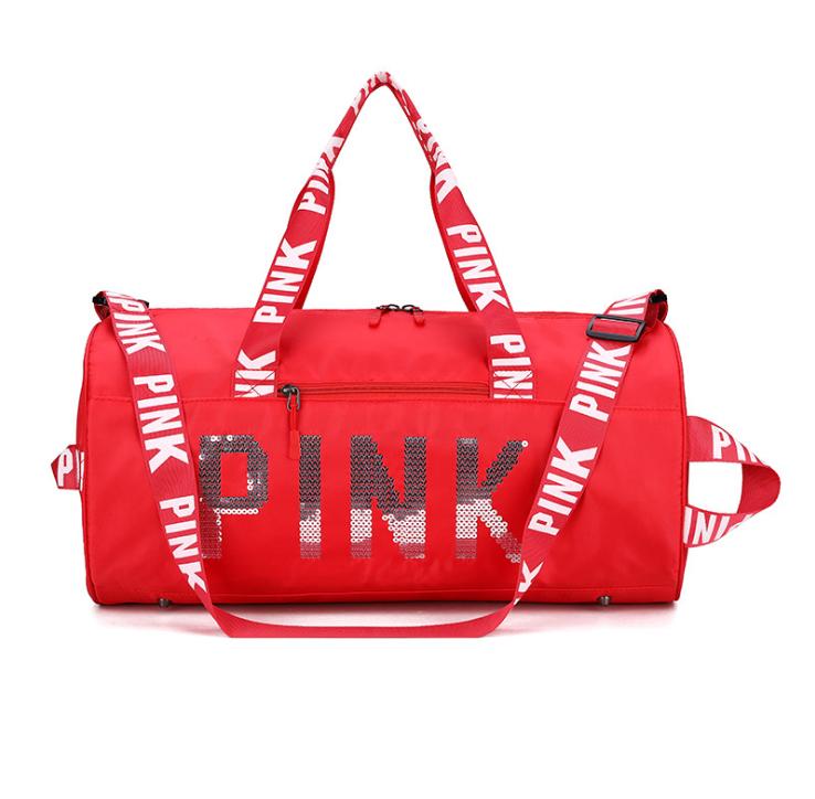 product-Osgoodway-Osgoodway2 2020 Hot Sale Designer Ladies Pink Duffel bag Wholesale Waterproof Spor
