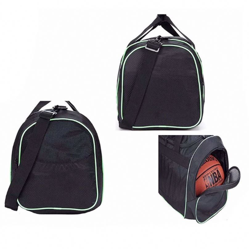 product-Osgoodway-Osgoodway Large Sports Duffle Bag Durable Men Gym Fitness Bag with Shoe Compartmen