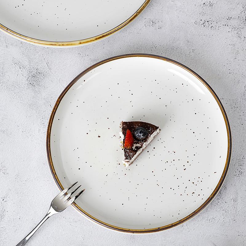 28ceramics Dinnerware Sets Ceramic Porcelain Plate, 28ceramics Rustic 8/10/12 Inch Plates Restaurant Hotel&