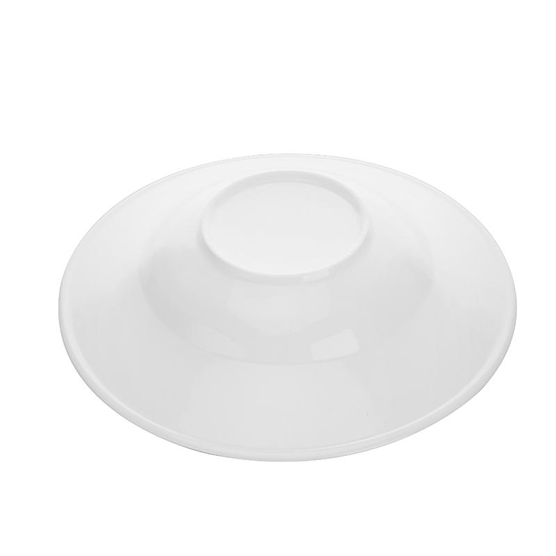 Dishwasher Safe Catering Horeca Appitizer Plates White, Microwave Safe China Porcelain Hotel Brand Dishes White Pasta Plate!