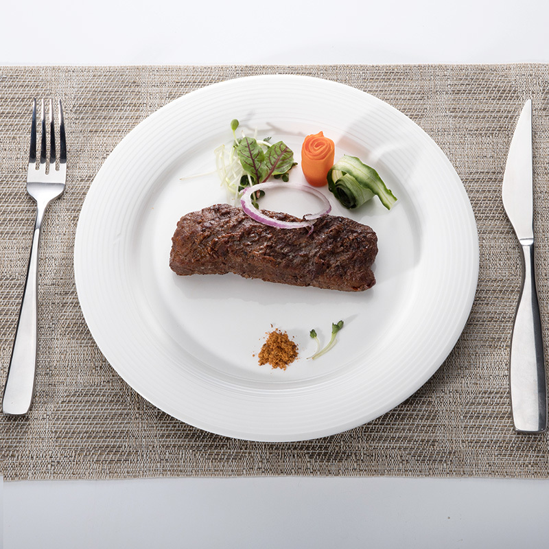 Cutlery Scratch Proof Porcelain Crockery Plates, Used China Dinnerware Plates, Platos Para Restaurante&