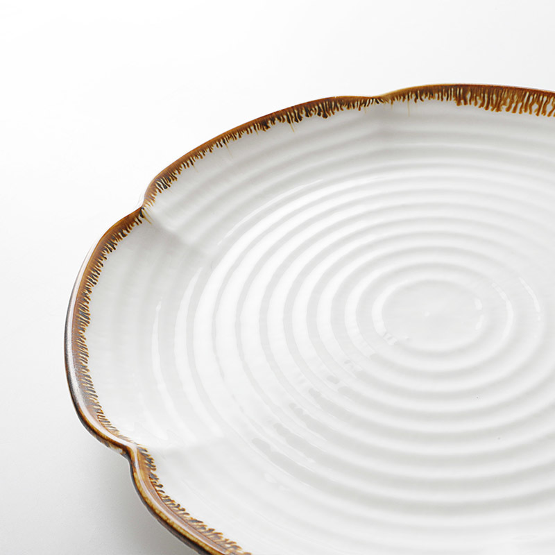 Productos Mas Vendidos En China Dishes Stone, Hotel Restaurant Server Plate, Catering Unique Shape Dinner Plate>