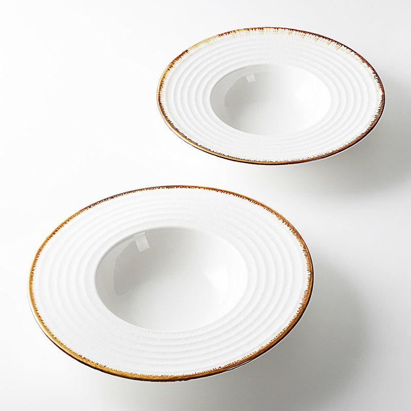 Custom Ceramic Crockery China, Hosen Hotel Porcelain Dishes For Restaurant/