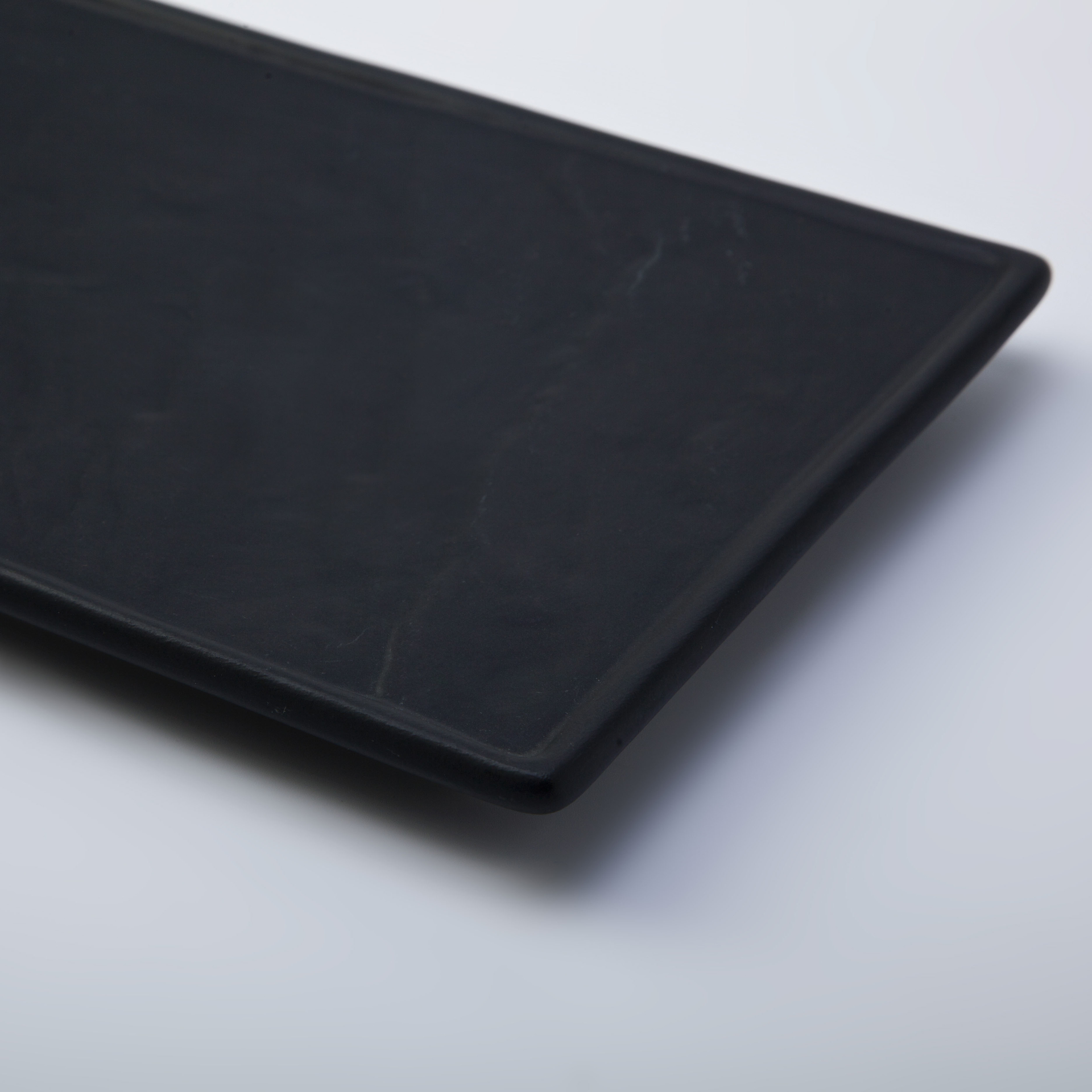 Sushi Restaurant Plato Rectangular, Australian Japanese Dinnerware Sets Black, Hotel Sushi SetRectangle Ceramic Plate
