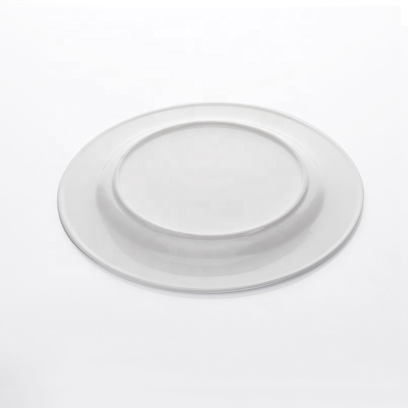 Outdoor lifestyle Wedding Porcelain Industrielle Poterie Vaisselle, Coupe Plate, Restaurant Round Plate