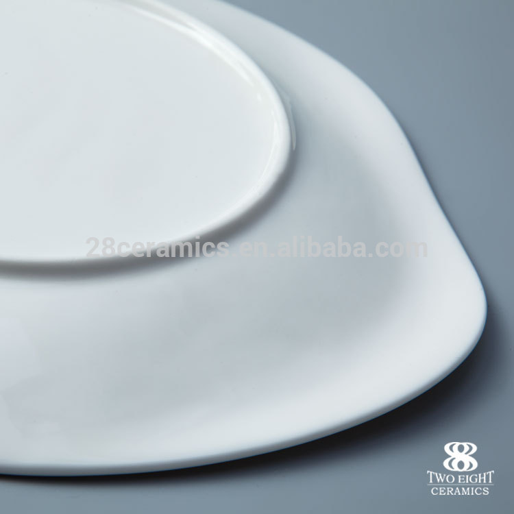 amazon top seller 2019 restaurant kitchen ware square dish porcelain plate porcelain tableware