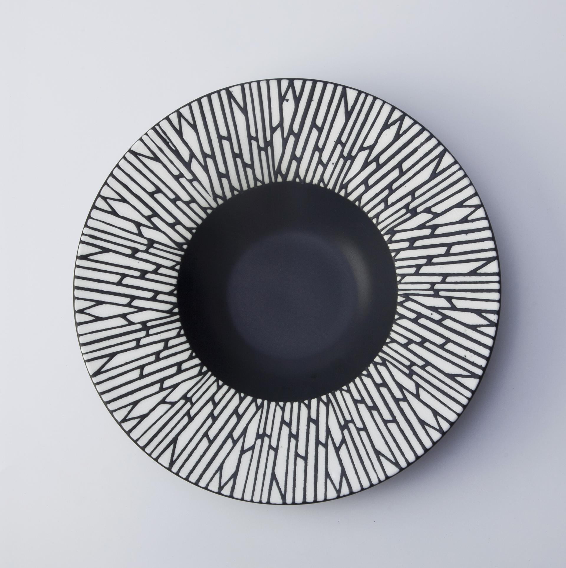 Japanese chinaware dinner plate porcelain tableware deep soup plate